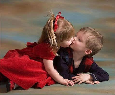 Az első csók emléke örökké megmarad