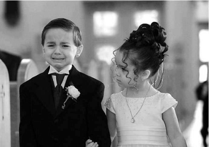 az esküvőt nem egyformán éljük meg