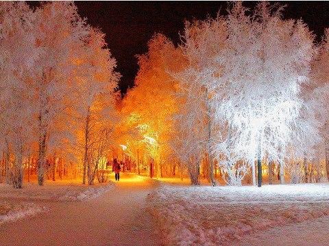 A tél szépsége