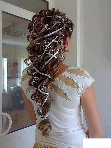 Menyasszony frizura