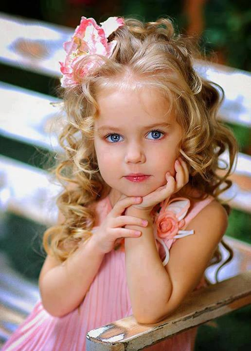 Gyönyörű kislány