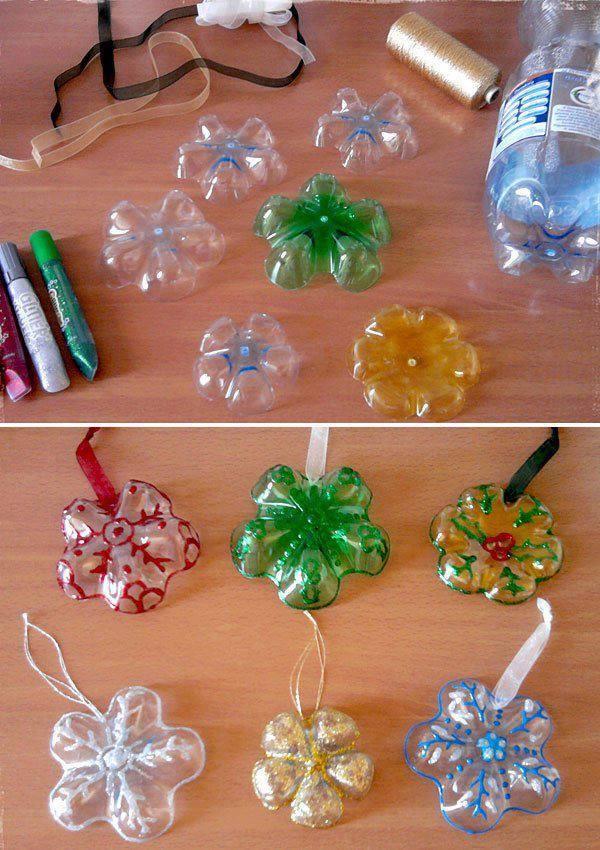 Műanyag üveg aljából