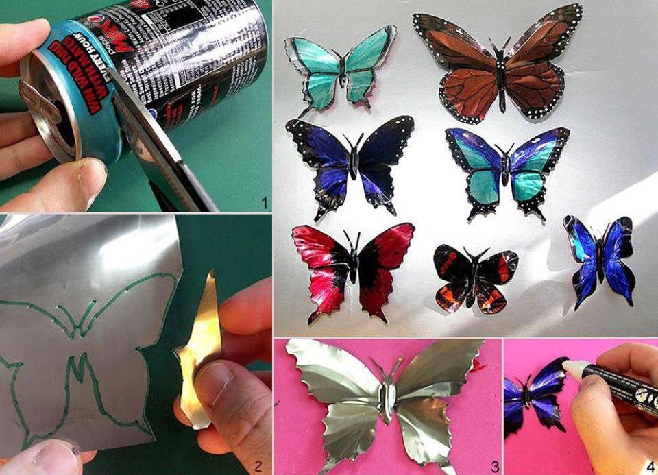 Pillangók hulladékból