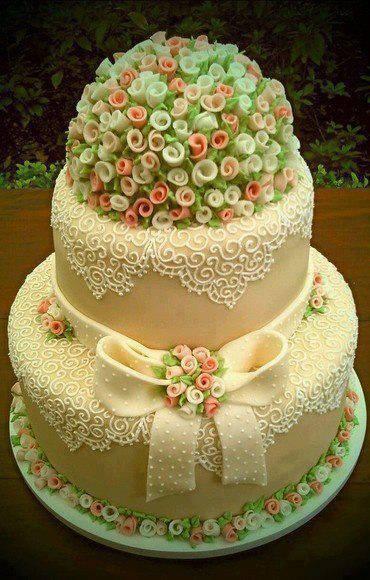 Minirózsás tortacsoda