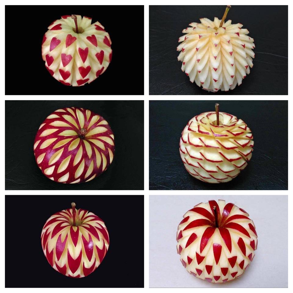 Almát kreatívan