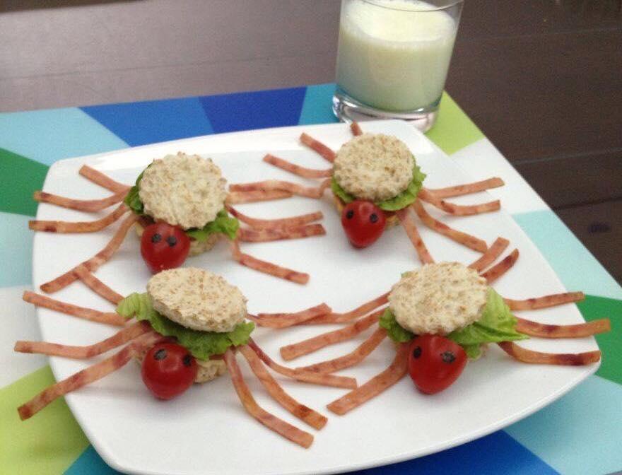 Pók szendvics