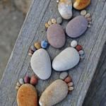 lábnyomok kőből